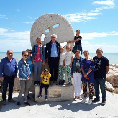 Gruppo della Repubblica Ceka in visita al dream point 43° Parallelo, Maggio 2019