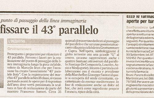 Corriere Adriatico  16/10/2011