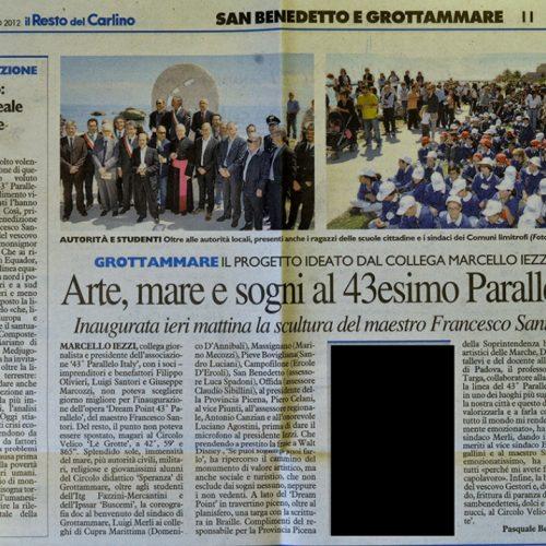 Il Resto del Carlino 6/05/2012