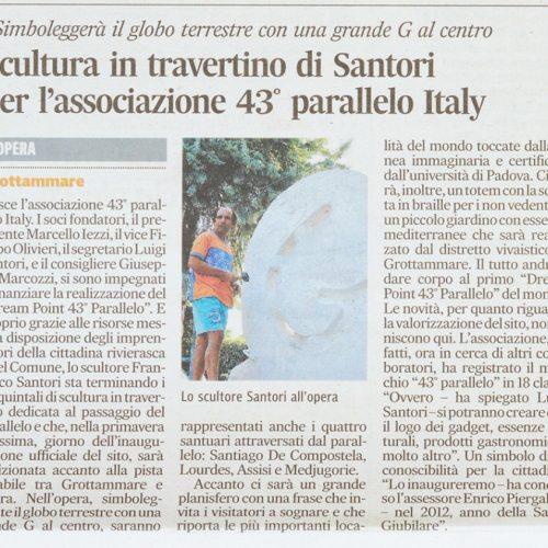 Corriere Adriatico 01/10/2011