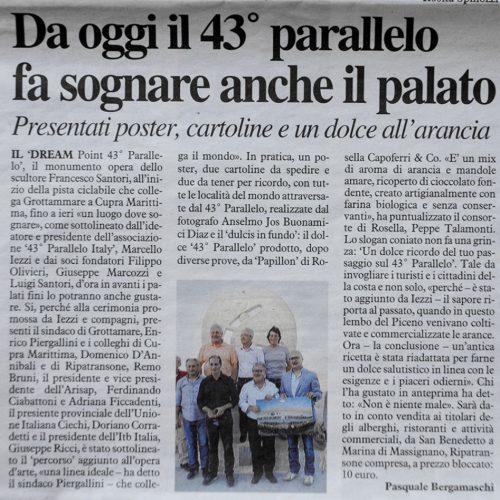 Il Resto del Carlino 02/08/2013
