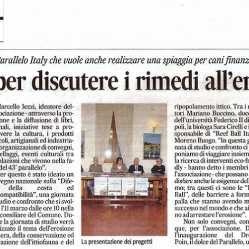Corriere Adriatico  I parte