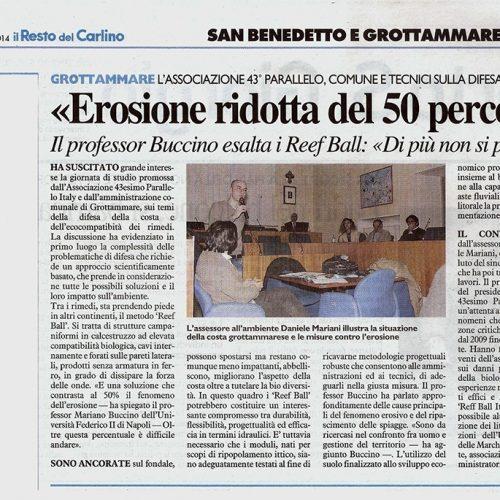 Il Resto del Carlino 12/03/2014