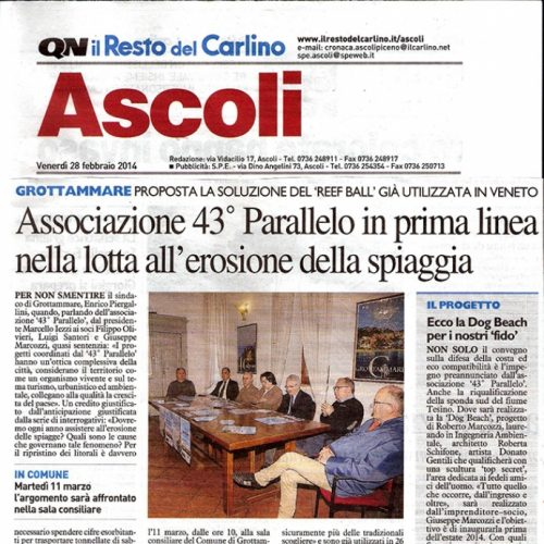 Rassegna Carlino 28/02/2014