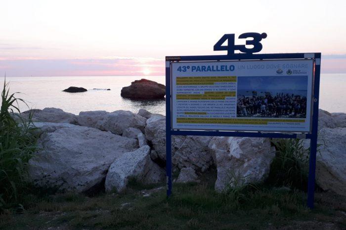 """Il 43° Parallelo presenta il nuovo cartello esplicativo """" UN LUOGO DOVE SOGNARE"""""""